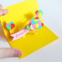 DIY Pop-Up Card {Handmade Cards}