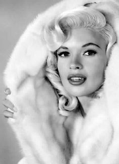 I have a serious weakness for lips-which has got me in trouble a few times. Ha Jayne Mansfield So fine-almost makes me wish I lived back then. Ha