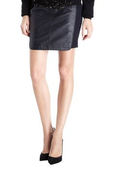 0'2ND leather pencil skirt