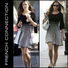 FRENCH CONNECTION Dress as seen Duchess Kate Dress like a royal! As seen on Kate Middleton. Excellent condition. Best fits a size 2 or XS. French Connection Dresses