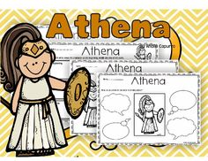 Athena- Myths - Athena packet can be used at school or home. In this pack you will learn about Athena myth and characters through the worksheets included in this 25-page pack. Activities such as Write about character traits. KWL chart (What you know. What you want to know. What you have learned). Describe the plot of the story. Retell familiar stories, including key details using a headband. #teachersherpa