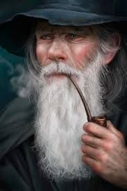 Gandalf the Grey by AllenDouglasStudio on deviantart Legolas And Tauriel, Gandalf, Tolkien, Dragons, E Pipe, Character Sketches, Character Art, Character Design, Fantasy Characters
