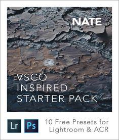 After hundreds of hours of research, calibration & testing, I'm thrilled to share my free starter pack of VSCO Cam Lightroom  presets! This pack is a free download and gives you both Lightroom and Adobe Camera Raw files for 10 different VSCO Cam inspired filters. VSCO Cam is… Read more