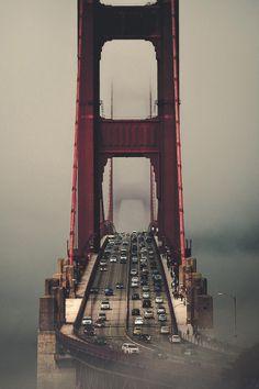 """banshy: """"Golden Gate Bridge by Jason Jko """""""
