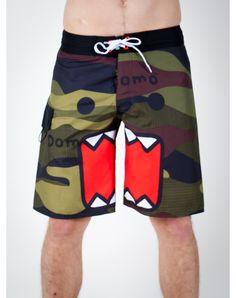 #Domo camo men's board shorts from Spencer's $14.98