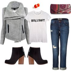 """""""you're not the boss of me"""" by robinplemmons on Polyvore"""