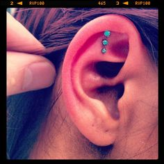triple helix. Another idea for my next piercing