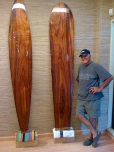 KOA surfboards by Kenny Tilton.  Master surfboard shaper Kenny has ridden waves with the best in Hawaii and up-and-down the coast of California.  He's been a pro surfboard shaper for over 40 years.  See his boards at Martin & MacArthur at Kings' Shop Waikoloa.  Call 808-886-0696.