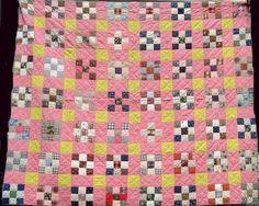 1880 Nine Patch Quilt