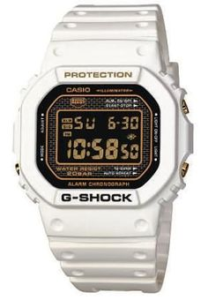 Casio  I love the Eighties charm of Casio. The G-Shock and Baby G were originally sold on their shock and water resistance, although the punchy futuristic design and range of colours meant that they quickly became cult watches. This limited-edition white version is one of a select range to celebrate 25 years of the G-Shock.  Casio (www.casioatcarnaby.co.uk) - £79.99