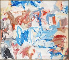 Willem de Kooning Screams of Children Come From Seagulls Kandinsky, Frieze Art Fair, Great Paintings, Oil Paintings, Landscape Paintings, Palais Galliera, Expressionist Artists, Willem De Kooning, Action Painting