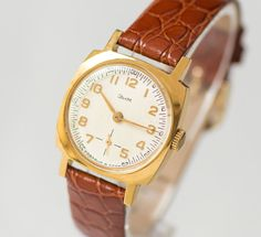 Mint condition women's watch ZIM  square unisex watch by 4Rooms