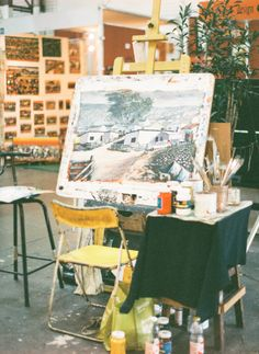 Artist's Studio Beautiful Mess | Jen Huang | South Africa