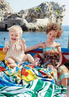 ALALOSHA: VOGUE ENFANTS: Dolce&Gabbana kids collection SS2013