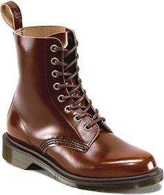 The simple silhouette of the classic Dr. Martens Boot uses a high shine, superior quality Portuguese Boanil Brush leather. This rub-off leather has a natural backing with the appearance of a more traditional non-dyed leather. A traditional tan colo Dr. Martens, Tan Leather Ankle Boots, Combat Boots, Dr Martens Store, Saddle Shoes, Most Comfortable Shoes, Crazy Shoes, Winter Boots, Shoes Sandals
