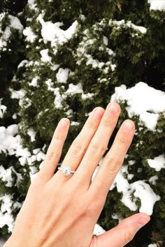 Classic halo engagement ring from Diamonds Direct. #engagementring #halo #diamond