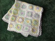Pastel shades Baby Blanket