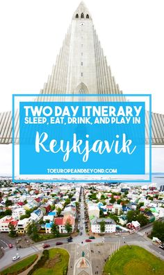 Where to go in Reykjavik if you only hve 48 hours in the city: http://toeuropeandbeyond.com/48-hours-reykjavik-things-to-do/ #Iceland #travel
