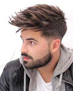 60 Best Medium Length Hairstyles and Haircuts for Men – 2018 – AtoZ Hairstyles Mens Hairstyles Fade, Cool Hairstyles For Men, Hairstyles Haircuts, Haircuts For Men, Medium Hair Styles, Short Hair Styles, Hair With Flair, Beard Haircut, Men Hair Color