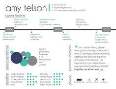 Customized Graphic Resume; Infographic Resume