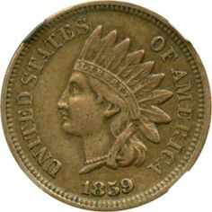 In-depth overview of the 1859 Indian Head Penny including its key features, value and how to appropriately judge the coins condition. Sell Old Coins, Old Coins Value, Rare Coins Worth Money, Valuable Coins, Coin Worth, Coin Values, Roseville Pottery, Antique Coins, Cool Art Drawings
