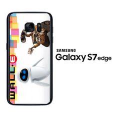 wall e and eve Z2534 Samsung Galaxy S7 Edge Case