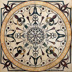 Old Victorian tile by Vladyslav Danilin, via Dreamstime