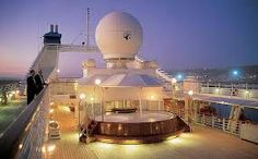 Evening view on Seabourn Legend