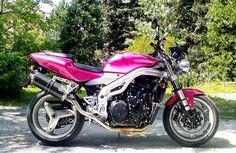 My first Speed: Fuksiabike