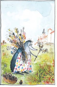 Les Très Riches Heures de Mrs Mole: A Real-Life Ronald Searle Love Story | Brain Pickings
