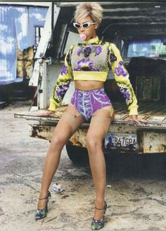 Beyonce - Dazed & Confused, July 2011
