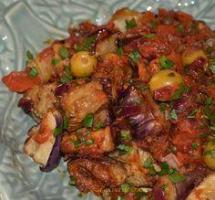 Caponata (guiso siciliano de berenjenas) | Cocina