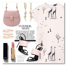"""""""Pink Night!!!"""" by alissfashionicon ❤ liked on Polyvore featuring Rochas, Chanel, Giuseppe Zanotti, Lana Jewelry, Ross-Simons, outfit, Pink and trend"""