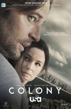 Josh Holloway e Sarah Callies la coppia al centro di Colony nel primo poster della nuova serie di USA Network