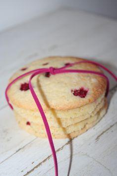 Himbeer-Lemon-Cookies