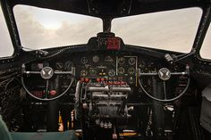 B-17F Cockpit on Flickr. - Tails from the Monkey