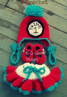 #Crochet thing 1 and thing 2!