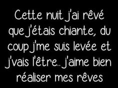 That night, I dreamed that I'm bored, so I'm up and going . That night, I dreamed that I Funny Quotes, Funny Memes, Jokes, Funny Logic, Quotes About Everything, Quote Citation, My Dream Came True, French Quotes, Bad Mood