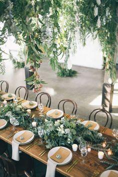 Hawaii Wedding Inspiration. Tablescape Decor. Greenery Inspo. Hawaii Wedding. Hawaiian Style. Island Wedding Style. Wedding Table Decor. Destination Wedding Design.