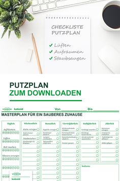 Zeitmanagement im Haushalt Free cleaning plan for less stress with housework and better planning. Beauty Routine Quotes, Beauty Routine Schedule, Laundry Sorting, Cleaning Schedule Printable, Clothes Basket, Budget Planer, Time Management, Clean House, About Me Blog