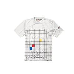 The Windowpane Court Tee in White is our lightest-weight performance tee yet. Plus, it has an eye catching printed graphic that will set you apart from the crowd. Tennis Fashion, Graphic Prints, Polo, Tees, Mens Tops, Collection, Sketch, Products, Sketch Drawing
