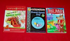 Lot 3 Chapter Books The Doggy Dog Detective Agency Martha Speaks Big Bad Martha Speaks, Detective Agency, Animal Books, Chapter Books, Animals For Kids, Good Books, Baseball Cards, Dogs, Ebay