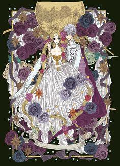 Sailor Moon// Serena and Principe Diamante