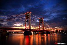 Image result for jembatan ampera