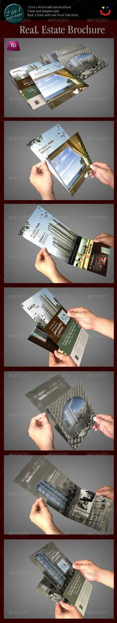 Nine Ivory I - Real Estate Brochure by G12 Design, via Behance - sample real estate brochure