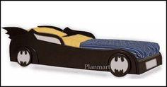 Children's Batman Batmobile/Car Bed Woodworking Plans