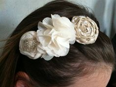 #fabric flower headband #headband