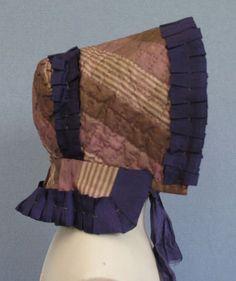 1830's Silk Bonnet