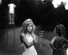 Sally Mann - Candy Cigarette - 1989 © Sally Mann. Courtesy Gagosian Gallery