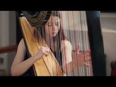 J.S. Bach - Toccata and Fugue in D Minor BWV 565 - Amy Turk, Harp - de imposible belleza